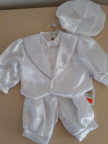 Nowe ubranko do chrztu roz. 74