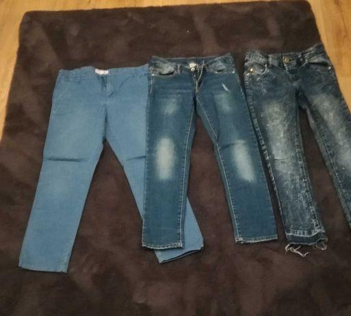 Jeansy dla dziecka  na 140
