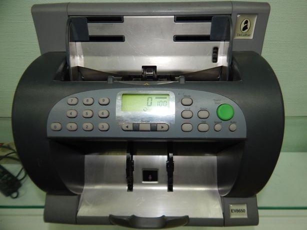 Счетчик банкнот DeLaRue Ev8650 Standart
