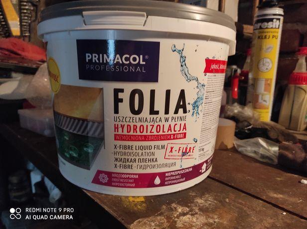 Folia w płynie, hydroizolacja Primacol x fibre 15 kg