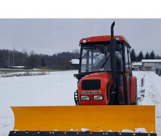 Pług śnieżny do odśnieżania Ursus Lovol Zetor i inne ciągnik wózek