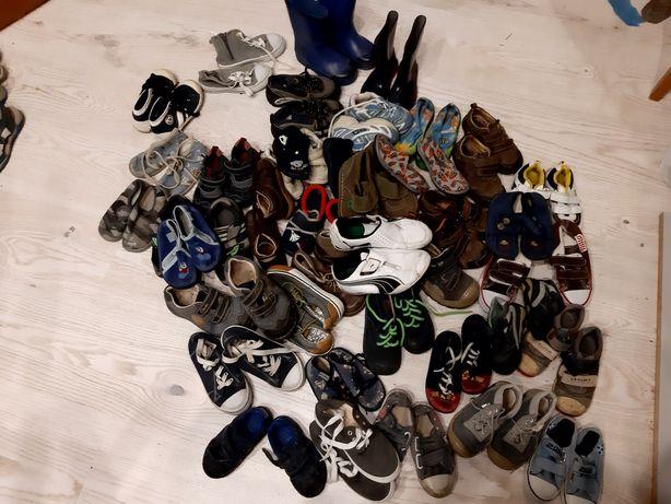 Buty dziecięce od rozmiaru 20 do 29.