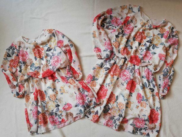 Sprzedam sukienki 104 i 146