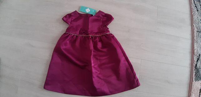 Elegancka sukienka Nowa rozmiar 98