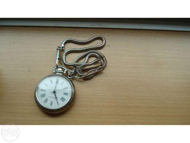 Relógio bolso c corrente