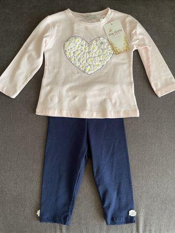 Продаю новый костюмчик для девочки 4-6 месяцев