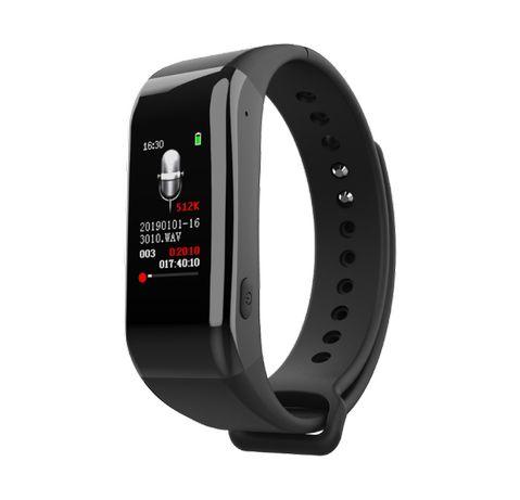 Smartband podsłuch dyktafon 8 GB MP3 Bluetooth