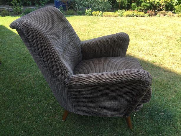 Komplet Sofa + 3 Fotele / Duński design lata 60-70 -te * stan bdb