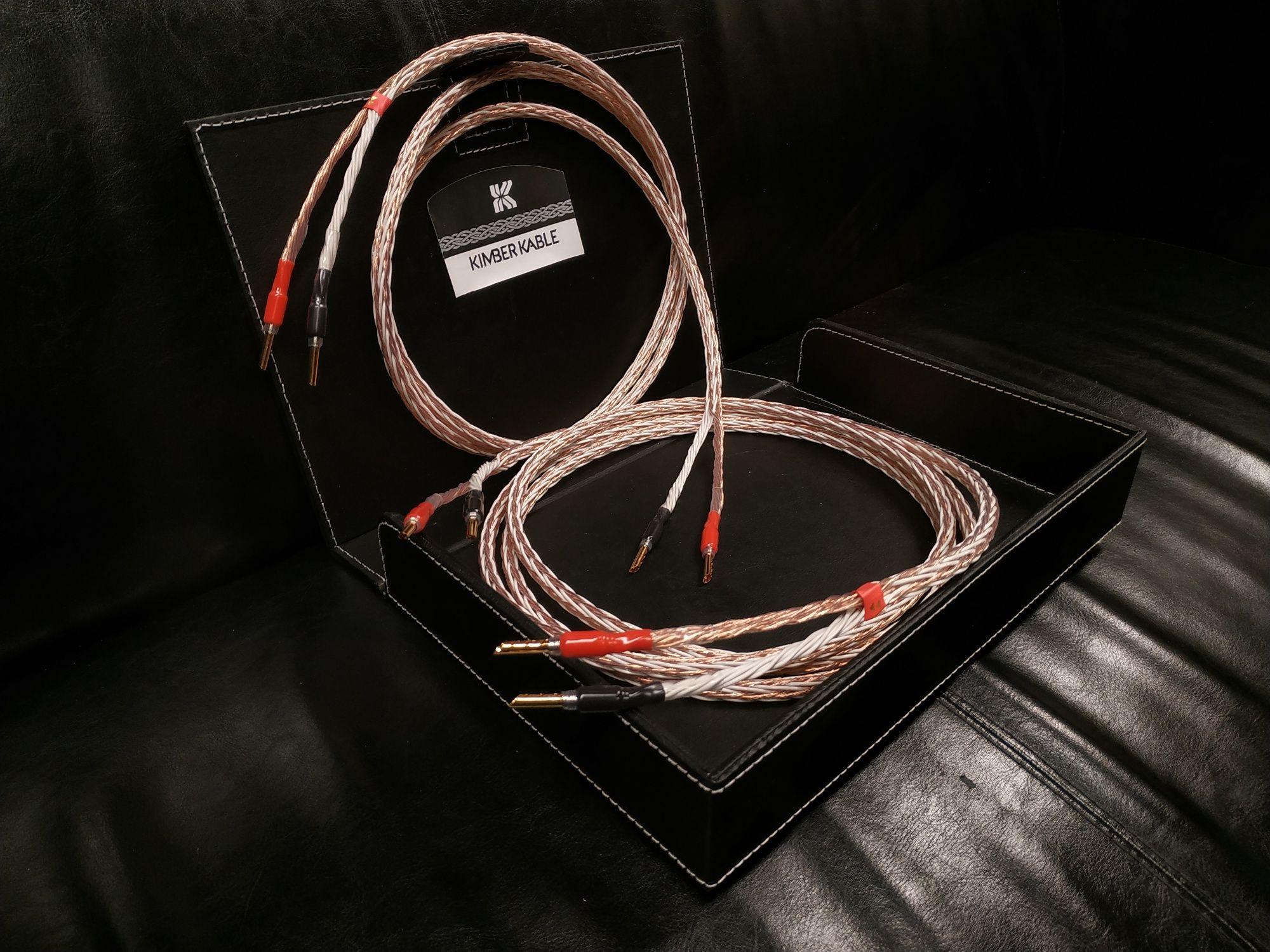 Kimber Kable 8tc kabel głośnikowy konfekcja Trans Audio Hi-Fi Wrocław