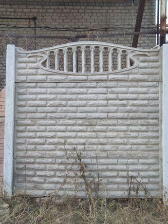 Заборы из бетона (Еврозабор)