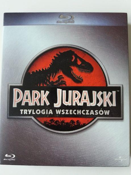 Jurassic Park Park Jurajski 3 x blu-ray