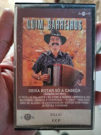 Cassete vintage Quim Barreiros