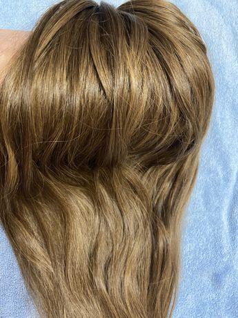 Натуральные волосы lux, волосы для наращивания славянка 60 см