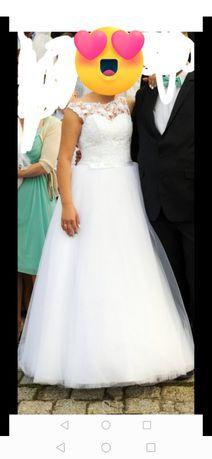 Suknia ślubna r 36,38,40
