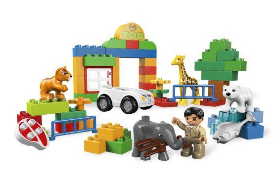 Lego duplo 6136 Мой первый зоопарк
