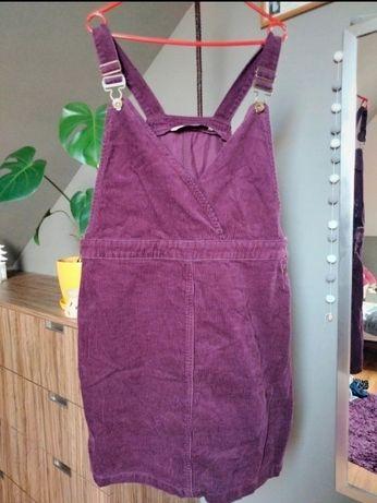 Sukienka ogrodniczka XL