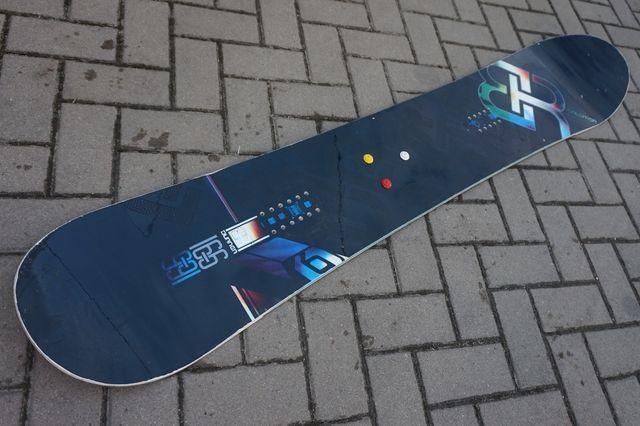 Deska Snowboardowa 166 Salomon Burner Freeride Snowboard 166