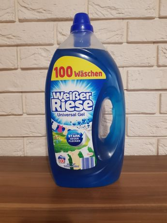 Niemiecki płyn do prania weisser riese