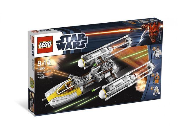Lego 9495 Gold Leader Y-wing Starfighter używane kompletne