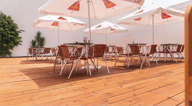 Trespasse restaurante com 120m2 de esplanada em Matosinhos Sul
