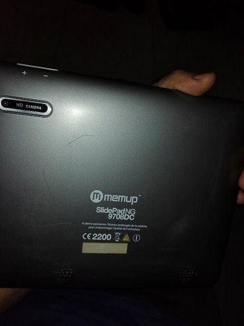 tablet MEMUP slidepad NG 9708DC. Portalegre - imagem 1