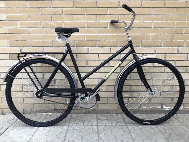 Велосипед дорожный Украина люкс черный
