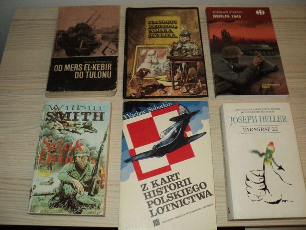 Książki różne , historyczne, wojenne, kulinarne, podręczniki