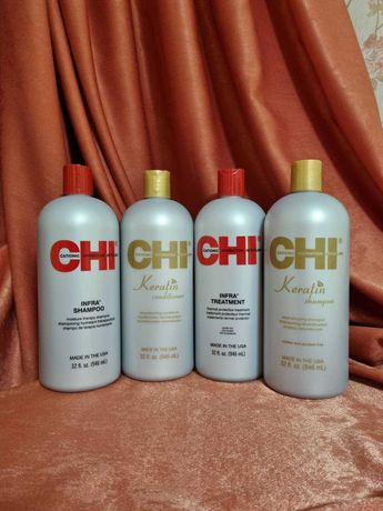 Набор  Chi Infra шампунь 946 мл + маска кондиционер 946 мл