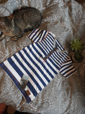 Bluzka chłopięca z krótkim rękawem 110cm