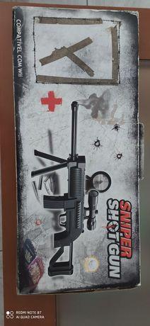 Wii sniper shot gun completa.