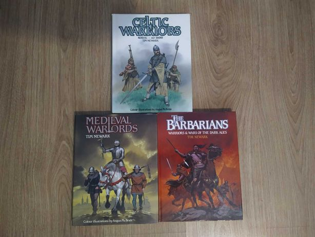 Tim Newark III Tomy Celtic Warrious, Medieval Warlords, The Barbarians