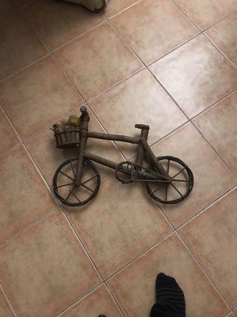 Bicicleta de decoração