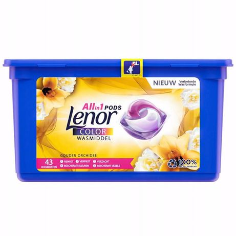 Lenor capsules Gold  Orchid Color  All in 1 43 in. Капсули для стирки