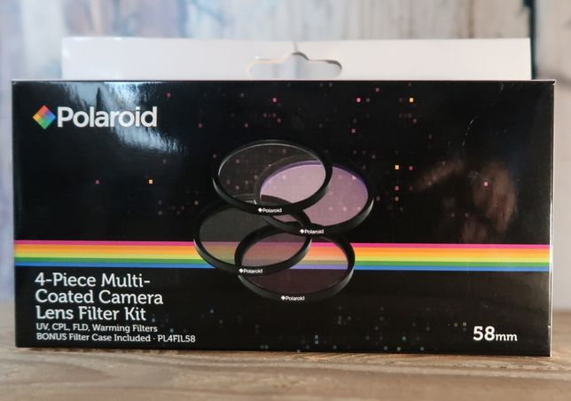Zestaw filtrów Polaroid 58mm Canon