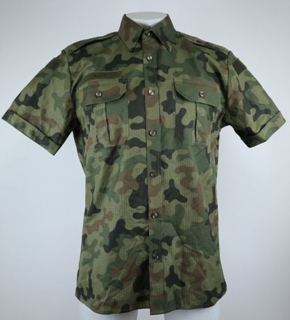 304/MON koszula polowa wojskowa z krótkim rękawkiem S