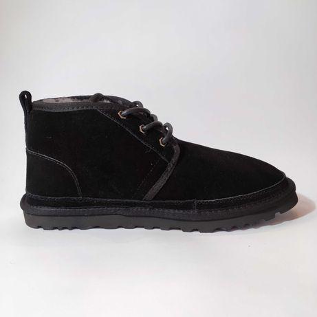 Оригинальные женские ботинки UGG Neumel Black \ Угги ньюмел чёрные
