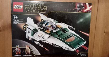 Nowe Klocki Lego Star Wars 75248 Myśliwiec A-Wing Ruchu Oporu