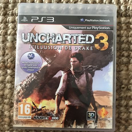 Gra Uncharted 3 ps3 Play Station 3