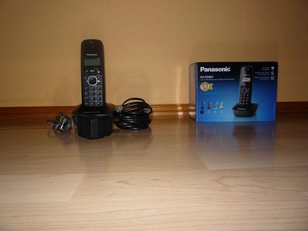 Panasonic KX-TG1611 czarny [telefon bezprzewodowy]