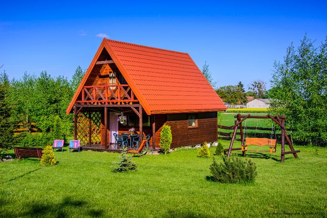 Domek nad jeziorem MAZURY OSTRÓDA Skarpa
