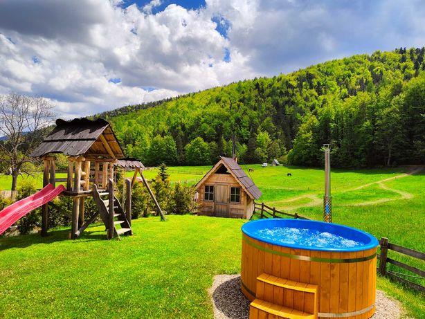 """Dom , Domek w górach Zakopane """"Trzy Doliny"""" Noclegi Jacuzzi, grill"""