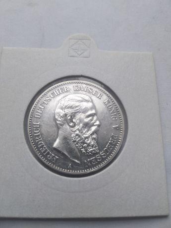 Moneta--2 Marki--1888--srebro