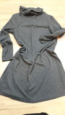 Szara sukienka sukienka sukienka