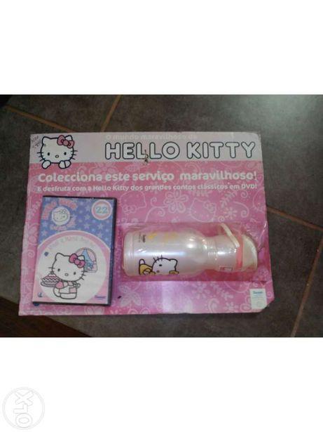 Garrafa + dvd Hello kitty
