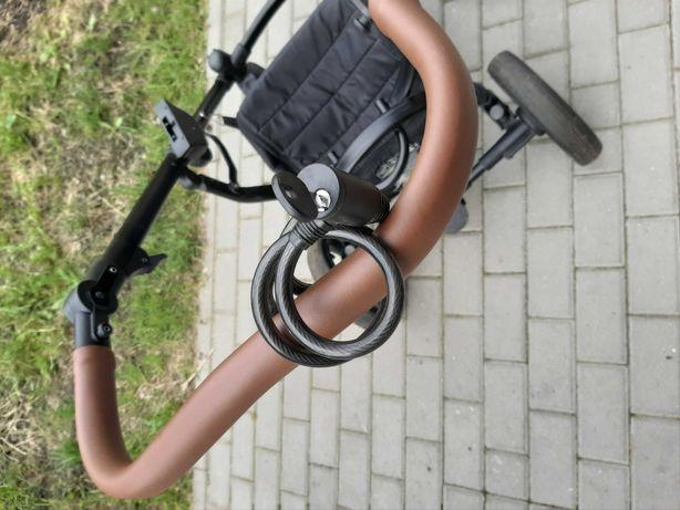Wózek bebetto Luca, gondola i spacerówka, dorzucam śpiworek plus bonus