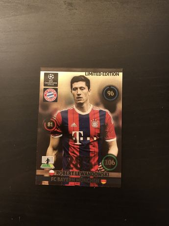 Limited edition Lewandowski Champions league 2014/2015