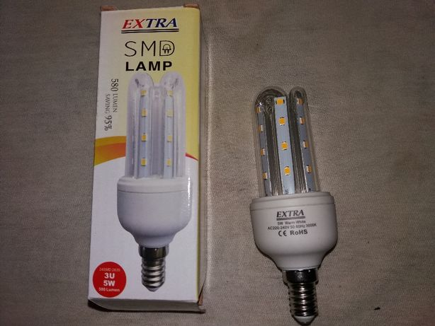 LED Лампа 5 W. недорого.Лампочки 5Ват.