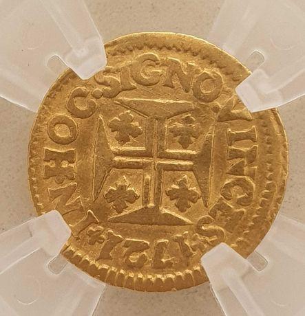 Moeda ouro D. João V 480 Réis (Pinto)