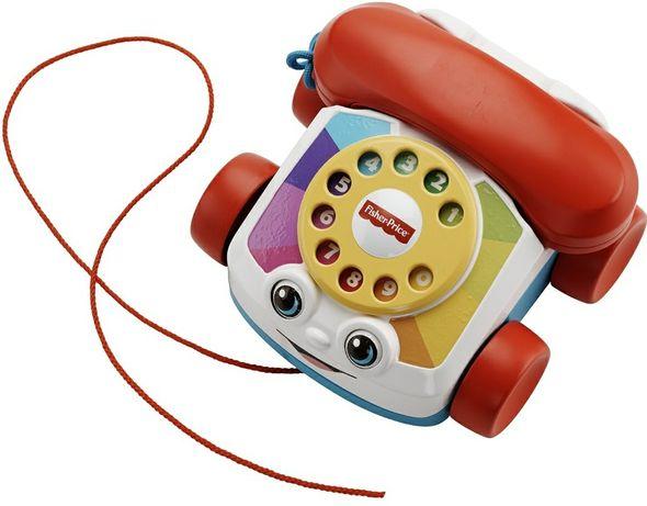 Ігрушка телефон fisher price