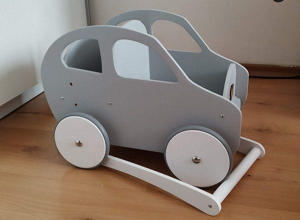 PROMOCJA Mega zabawka drewniane autko samochód wózek - Bebis.pl eco